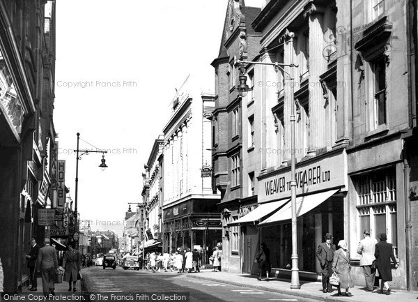 Photo of Northampton, Gold Street c.1950