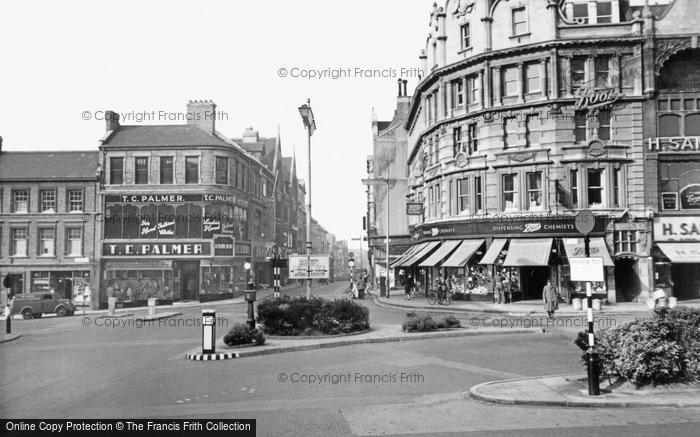 Photo of Northampton, Gold Street c.1955