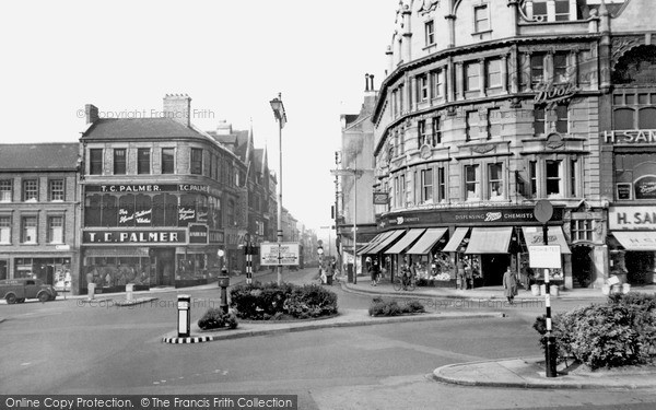 Northampton, Gold Street c1955.  (Neg. N40057)  � Copyright The Francis Frith Collection 2008. http://www.francisfrith.com