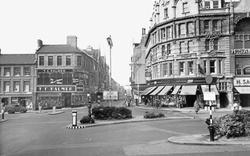Northampton, Gold Street c.1955