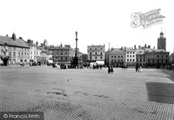 Northampton, Market Square 1922