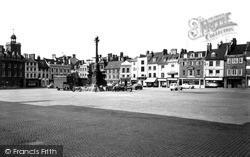 Northampton, Market Square 1957