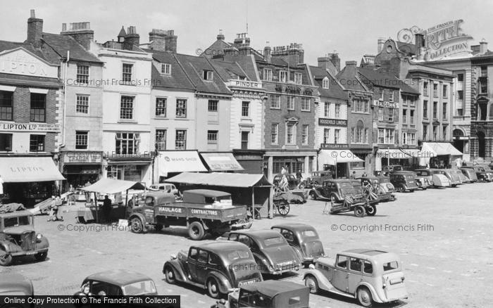 Northampton, Market Square c1950