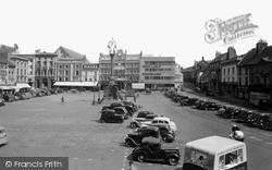 Northampton, Market Square c.1955