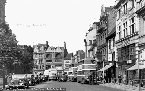 Northampton, Mercers Row 1949