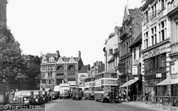 Northampton, Mercers Row 1949