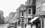 Northampton, Motor Car In Abington Street 1922
