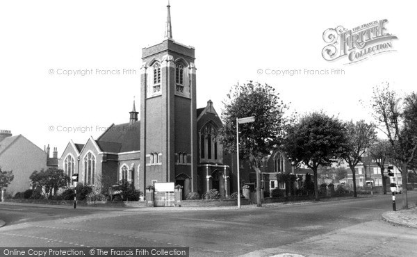 Photo of Northampton, Park Avenue Methodist Church c.1960