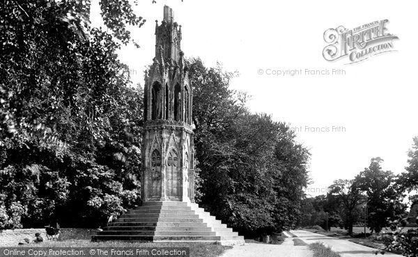 Photo of Northampton, Queen Eleanor Cross 1922