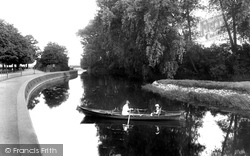 Northampton, River Nene 1922
