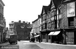 Sheep Street Looking Towards The Drapery c.1950, Northampton