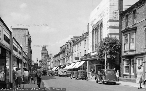 Northampton, St Giles Street c1955.  (Neg. N40015)  � Copyright The Francis Frith Collection 2008. http://www.francisfrith.com