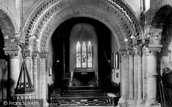 Northampton, St Peter's Church, Norman Arch 1922