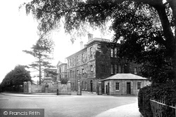 Northampton, The Hospital 1922