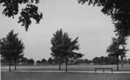 Northampton, The Racecourse c.1955