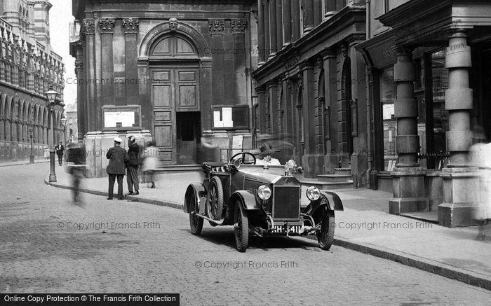 Northampton, Vintage Motor Car 1922