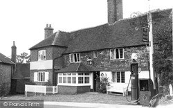 Northchapel, The Half Moon c.1955