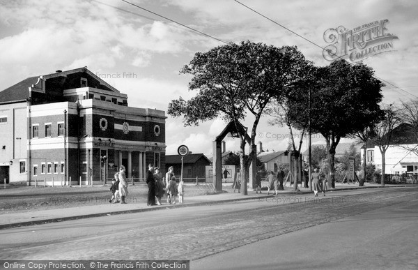 Northfield Cinema 1949  Francis Frith