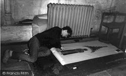 Northleach, Brass Rubbings c.1965