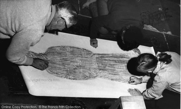 Photo of Northleach, Brass Rubbings c.1965