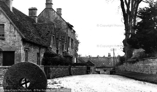 Photo of Northleach, Church Farm Cottages c.1955
