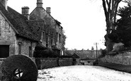 Northleach, Church Farm Cottages c1955