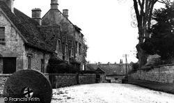 Northleach, Church Farm Cottages c.1955