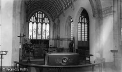 Northleach, Church Interior c.1965