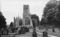 Northleach, Church Of St Peter And St Paul c.1965