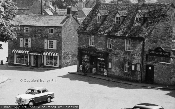 Photo of Northleach, Cotswold Store, Market Place c.1960