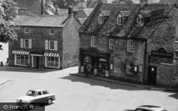 Cotswold Store, Market Place c.1960, Northleach