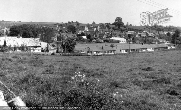 Photo of Northleach, General View c.1960