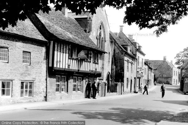Photo of Northleach, High Street 1956