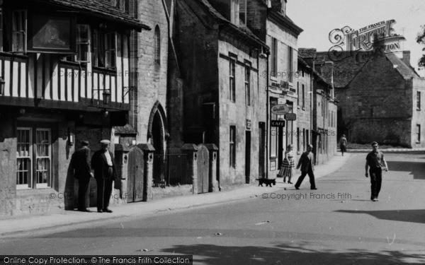Photo of Northleach, High Street 1956