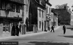 Northleach, High Street 1956