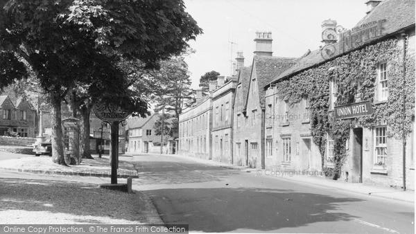 Photo of Northleach, High Street c.1960