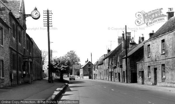 Photo of Northleach, High Street c.1960