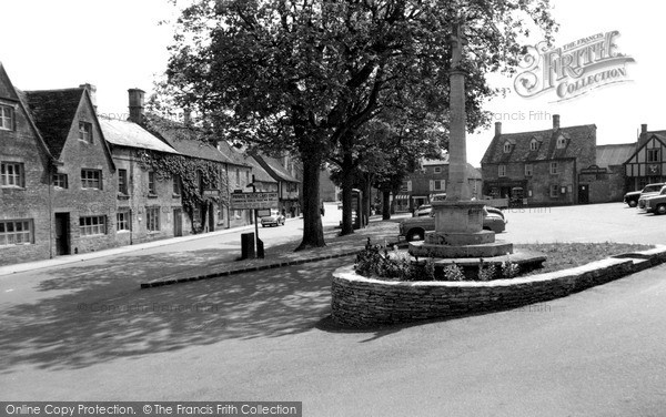 Photo of Northleach, Market Place c.1960