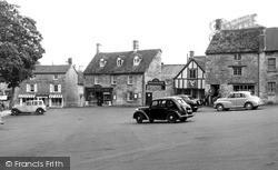 Northleach, Market Square c.1955