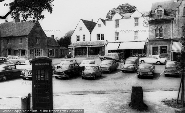Photo of Northleach, Market Square c.1965