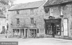 Northleach, Market Square Shops c.1950