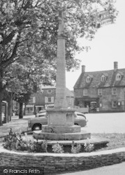 Northleach, Memorial, Market Place c.1960