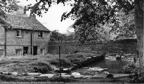 Photo of Northleach, Mill Pond c.1950