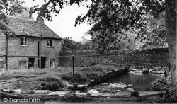 Northleach, Mill Pond c.1950