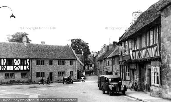 Photo of Northleach, The Green 1952