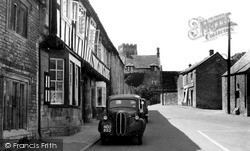 The Green c.1960, Northleach