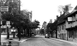 The Market Square c.1950, Northleach