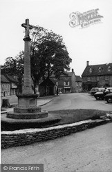 Northleach, The Memorial c.1965