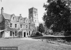 The Rectory And Church Of St Peter And St Paul c.1960, Northleach