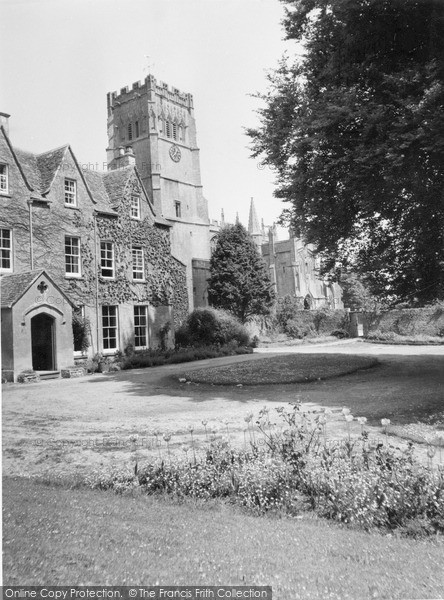 Photo of Northleach, The Rectory And Church Of St Peter And St Paul c.1960